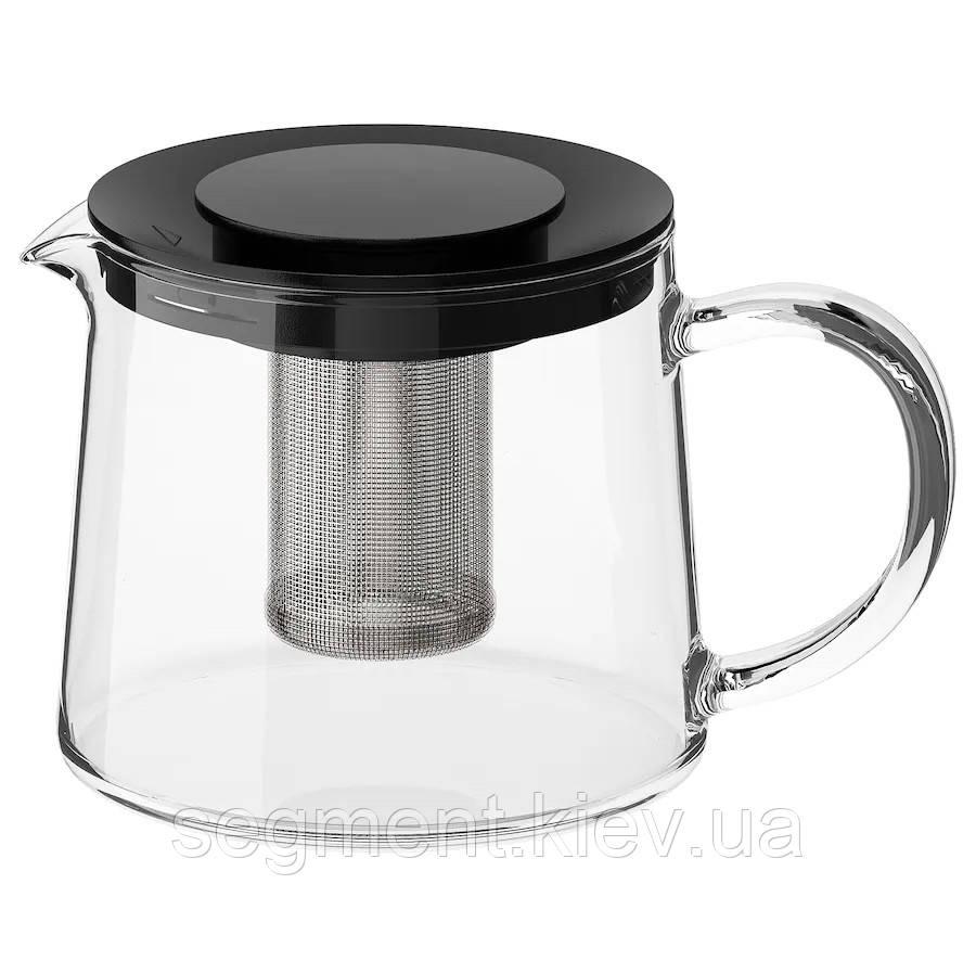 Чайник, скло 0,6 л