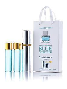 Жіночі міні парфуми Antonio Banderas Blue Seduction 45ml