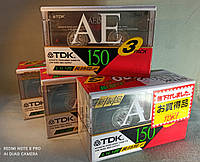 Блок аудиокассет TDK AE 150 (1994), фото 1