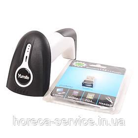 Беспроводной 1D сканер для одномерных штрих кодов Yumite YT-1402 А со стендом