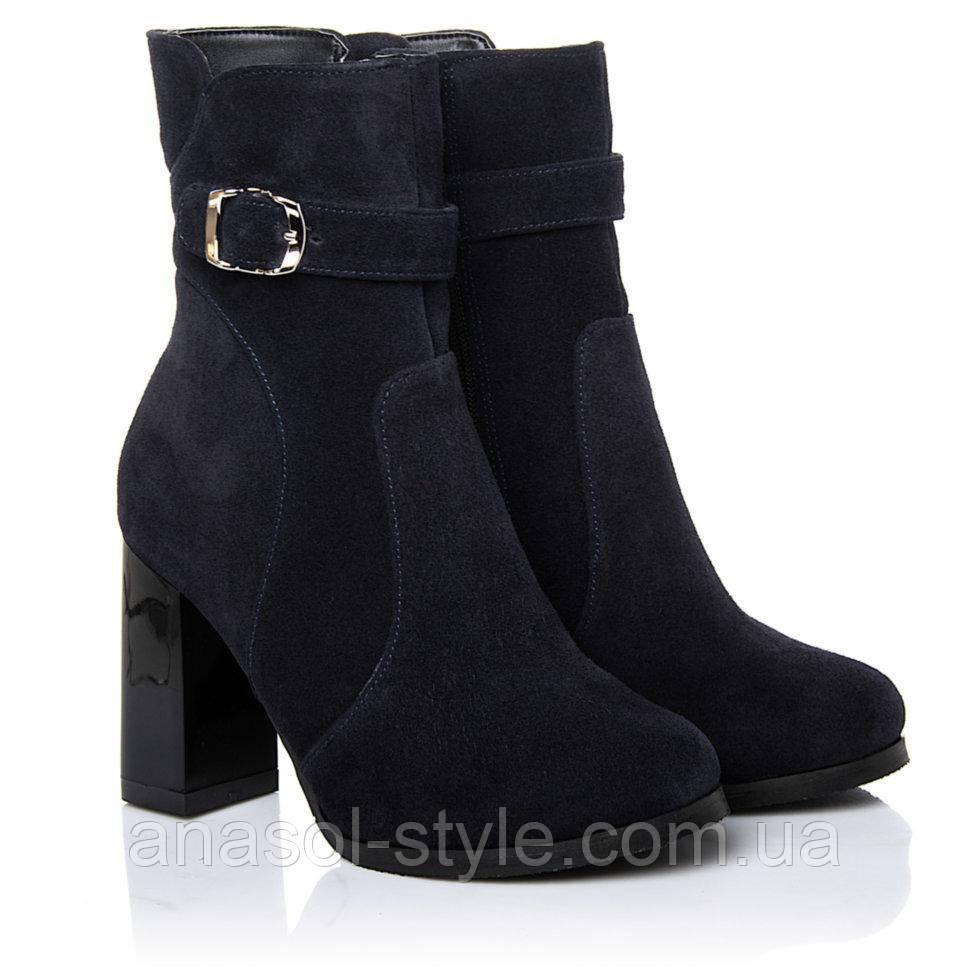 Ботинки La Rose 2260 39(26см) Синие замша