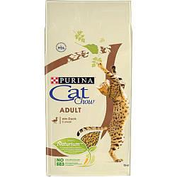 Корм Cat Chow Adult Кет Чау з качкою 15 кг