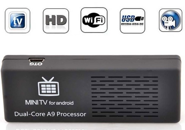 Медиаплеер двухъядерный Android Smart TV box MK808B