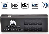 Медиаплеер двухъядерный Android Smart TV box MK808B, фото 1