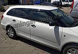 Дефлектори вікон, вітровики Skoda Fabia II універсал 2007-2014 (Hic), фото 3