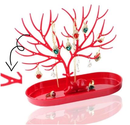 Підставка для зберігання ювелірних виробів у вигляді дерева WE Jewelry