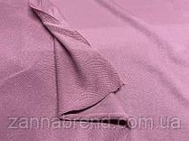 Трикотажна тканина трехнитка петля порошно-рожевого кольору (Туреччина)