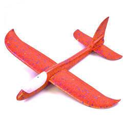 """Метальний планер з підсвічуванням """"Пенолет"""" 48 см (червоний)"""