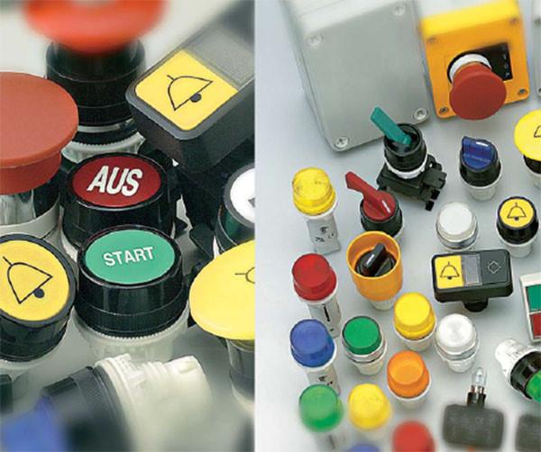 ETISIG (светосигнальная арматура, кнопки, переключатели)