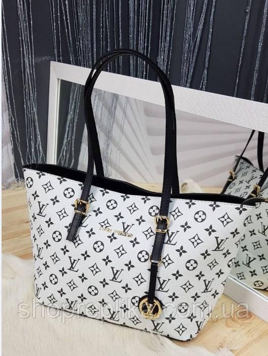Сумка через плечо женская вместительная  модный тренд 2021 стильная женская сумка шоппер женская