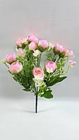 Нежно розовые крокусы 29см,искусственный  букет роз