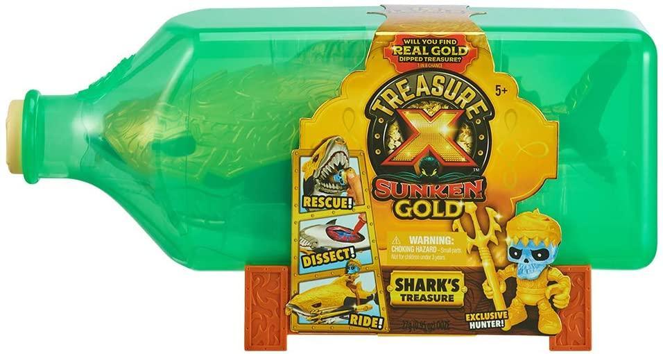 Игровой набор Treasure X Вскрытие акулы Sunken Gold Shark's Treasure