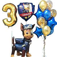 Композиция шаров на день рождения в стиле Детского патруль