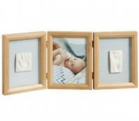 Тройная рамочка Baby Art, цвет натуральный