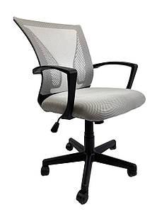 Кресло офисное Star C487 серое, сетка