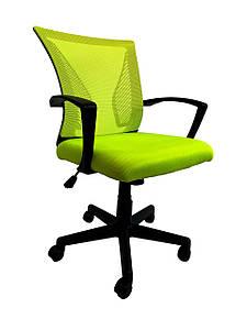 Кресло офисное Star C487 зеленое, сетка