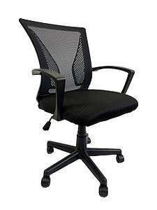 Кресло офисное Star C487 черное, сетка