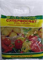 Суперфосфат гранулированое удобрение 1 кг Агрохим