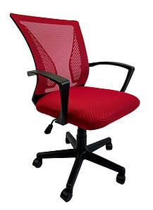 Кресло офисное Star C487 красное, сетка
