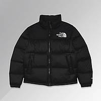 Куртка мужская зимняя The North Face до - 25*С теплая черная   Пуховик мужской зимний TNF Премиум качества