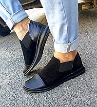 Комбинированные женские туфли