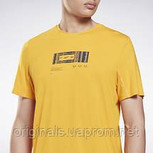 Спортивна футболка Reebok Activchill + DreamBlend GS9202 2021 2, фото 3