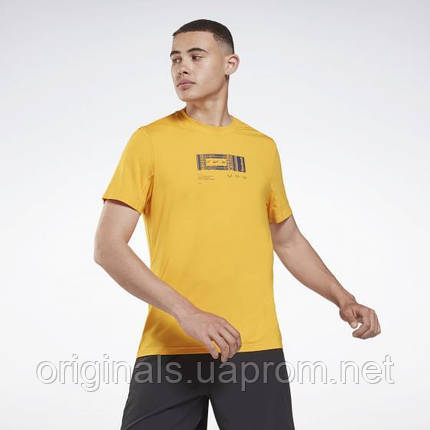 Спортивна футболка Reebok Activchill + DreamBlend GS9202 2021 2, фото 2