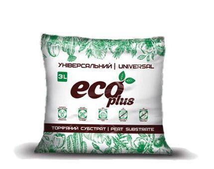 Торфяной субстрат Eco Plus Универсальный 3л