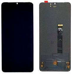 Дисплей OnePlus 7T с тачскрином черный Amoled