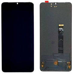 Дисплей OnePlus 7T с тачскрином черный OLED