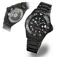 Чоловічі годинники Steinhart Ocean One GMT BLACK DLC 103-1011, фото 1