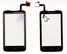 Тачскрин сенсор Lenovo A316i черный