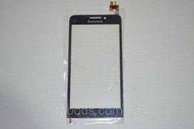 Тачскрин сенсор Lenovo A828T черный