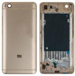 Задня кришка Xiaomi Mi5s золота (HQ)