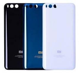 Задня кришка Xiaomi Mi-6 синя (HQ)