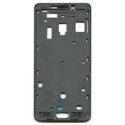 Рамка корпус Xiaomi Redmi Note 2 черная