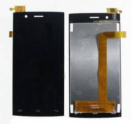 Дисплей с тачскрином Fly FS451 Nimbus 1 черный (HQ)