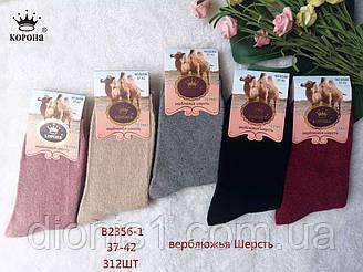 Шкарпетки жіночі зима махрові Корона термо верблюжа шерсть розмір 37-41 12 шт в уп.