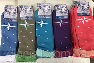Шкарпетки жіночі зима махрові Надін розмір 36-41 10 шт в уп.