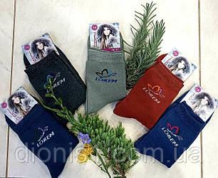 Шкарпетки жіночі зима махрові розмір 36-41 10 шт в уп.