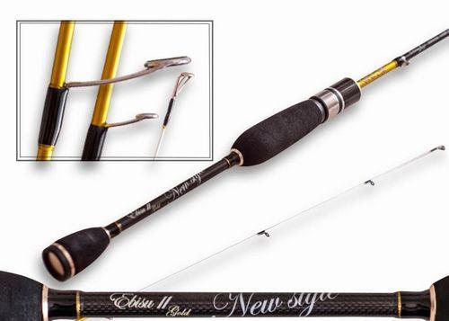 Спінінг Crazy Fish Ebisu II Gold SG602SUL Nano Jig new style (0.5-3g 183cm 0.15-0.4 PE)