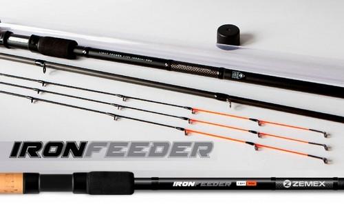 Удилище фидерное ZEMEX Iron Feeder 13ft - 100g