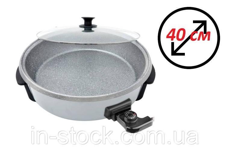 Сковорода електрична з терморегулятором OMS 3218