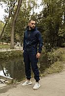 Куртка и штаны карго комплект мужской качественный модный удлиненный синий Intruder Softshell Easy, фото 1