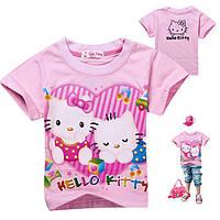 Футболка для девочки Hello Kitty. Размер 3 года.