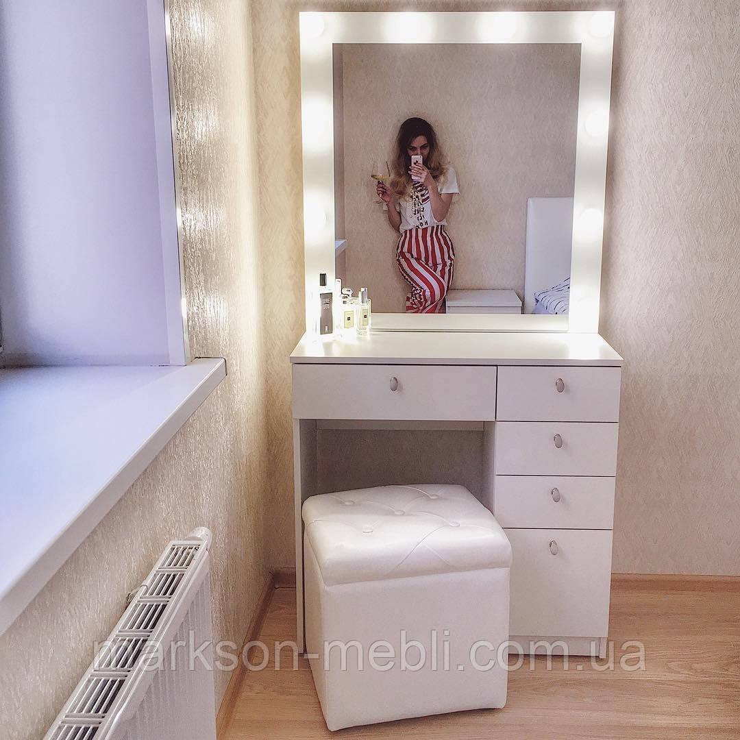 Визажный столик для макияжа с тумбой М615