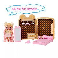 Игровой набор с куклой Na! Na! Na! Surprise 3 в 1 – Рюкзачок-спальня Сары Снаглз