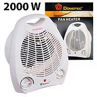 Мощный электрический тепловентилятор с регулятором DOMOTEC MS-5901 комнатный дуйчик обогреватель дуйка 2000W