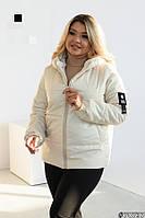Куртка женская асортимент молочная, черная, горчица, серая