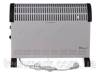 Нагрівач конвекційний, побутовий, Domotec MS 5904  Потужність 2000 Вт білий